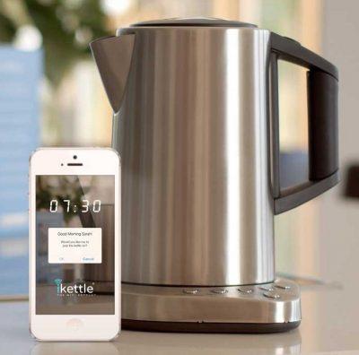 первый электрический WiFi чайник iKettle