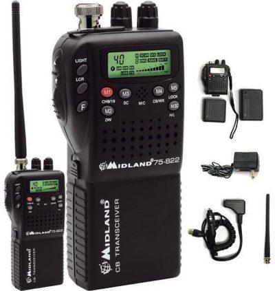 портативная автомбильная радиостанция Midland 75-822